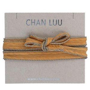 CHAN LUU Honey Gold Necktie/Necklace
